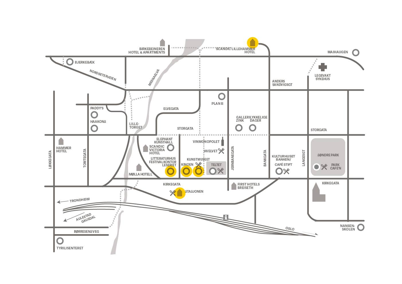 23fa3cbc Lunsj serveres på Lillehammer Kunstmuseum kl 13:00 mandag og 12:30 tirsdag.  Lunsjen er inkludert i passet ditt.