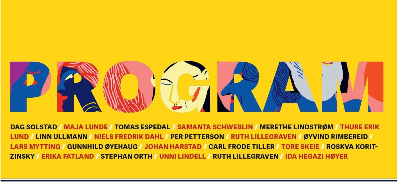 Programbilde, Norsk Litteraturfestival