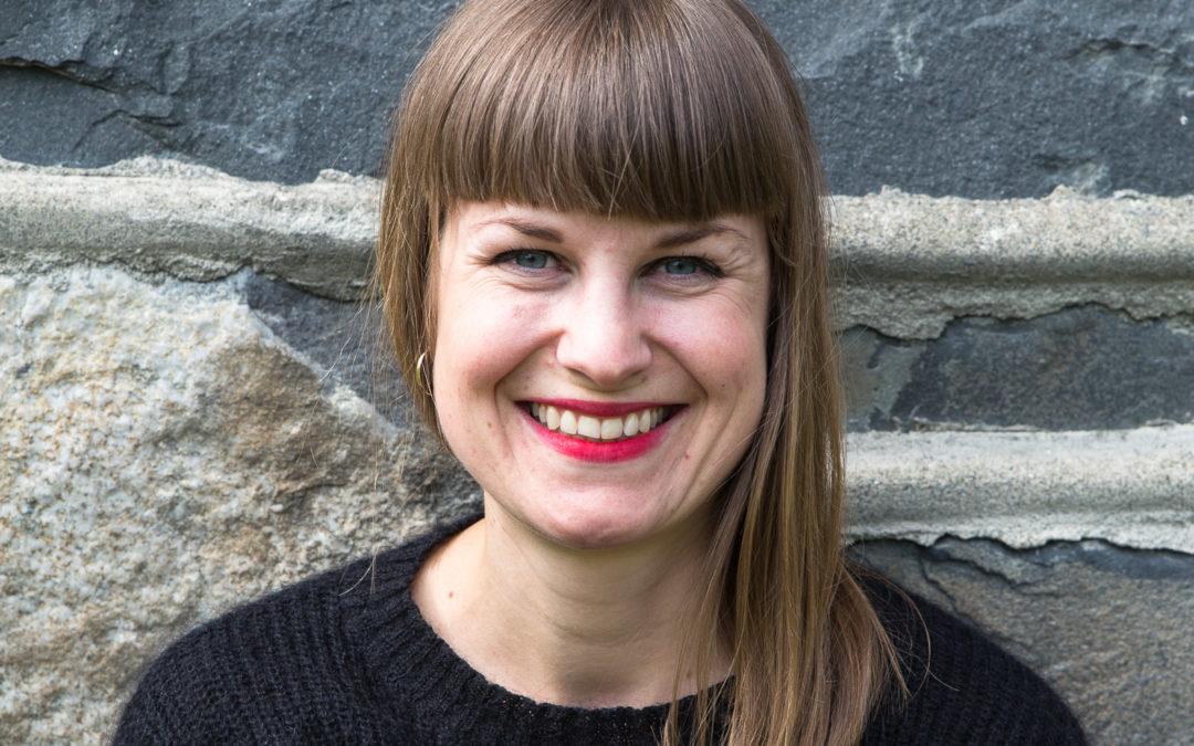 Norsk Litteraturfestival, Anne-Thea Langvik Haavind. Foto: Mette Banken
