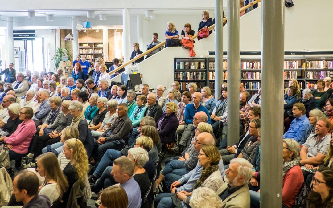 Norsk Litteraturfestival, Samfunn og debatt. Foto: Caroline Strømhylden