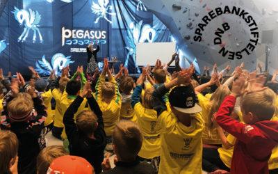 Sparebankstiftelsen DNB støtter Pegasus med kjempebeløp